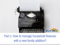 Part 1 How to manage household finances with a new family addition