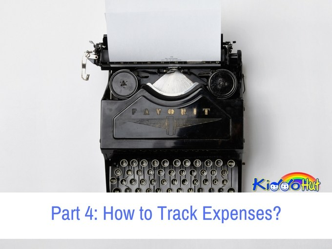Part 4 How to Track Expenses