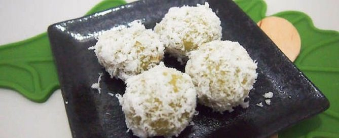 Oozing Ondeh-Ondeh recipe