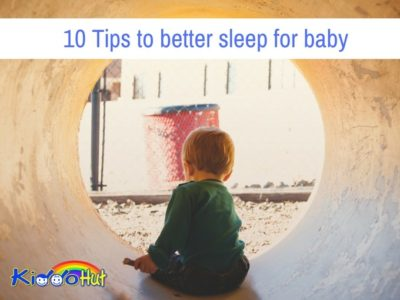 10 Tips to better sleep for baby